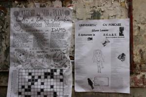 Плакати от университета в Падуа
