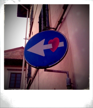 Love? This way, please.