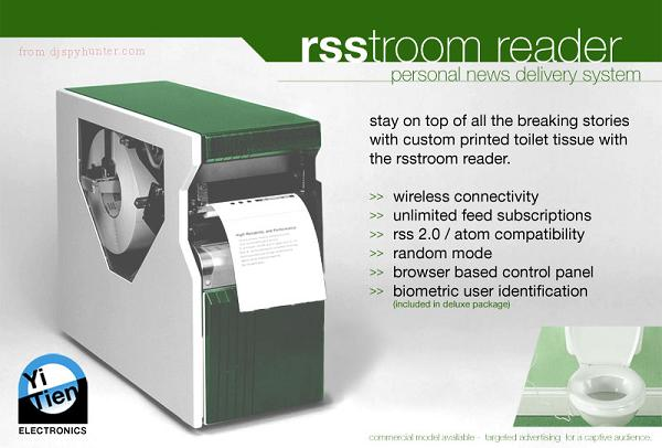 Rsstroom Reader Specifications