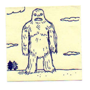The Abominable Snowman is Depressed